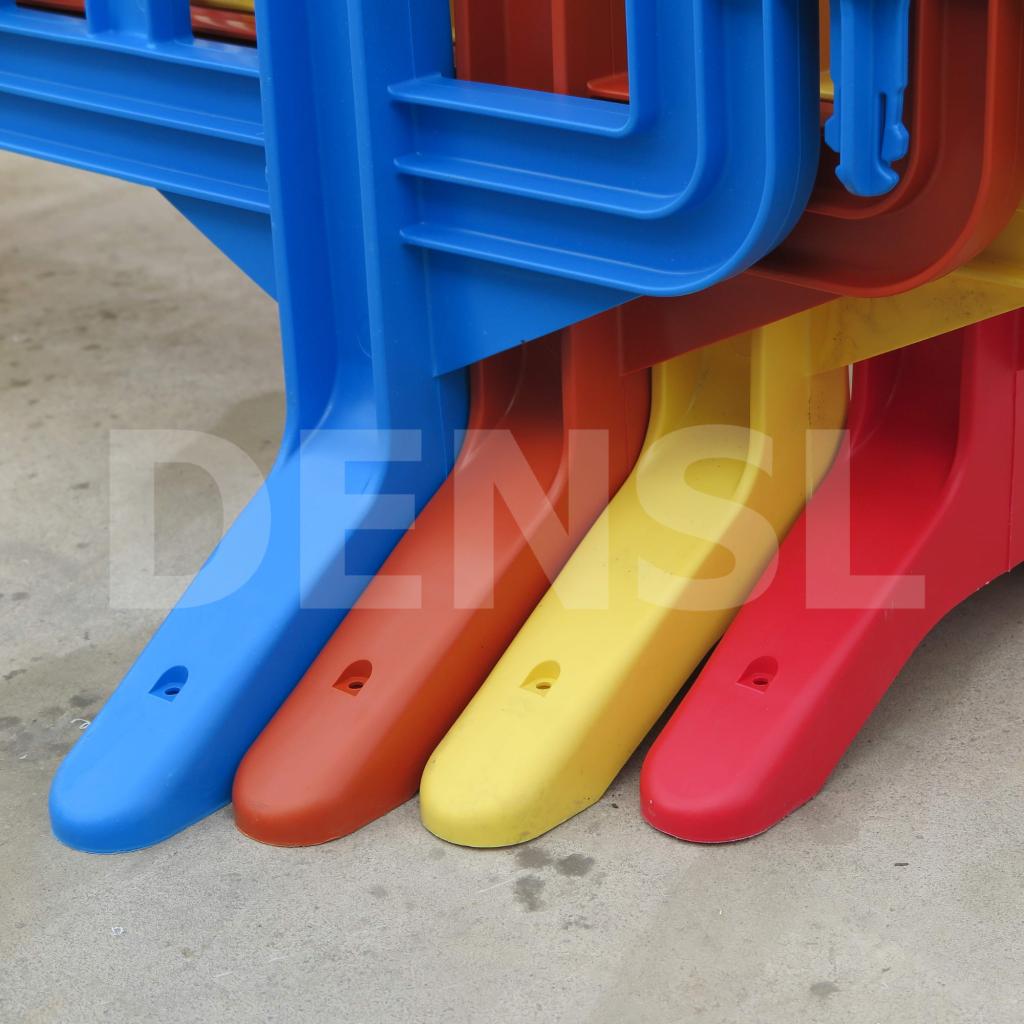 valla de plástico