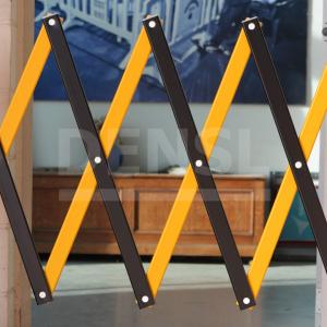 Vallas extensibles y plegables XPANDIT en color amarillo / negro