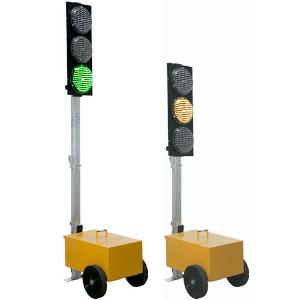 Semáforo portátil para obras S2050