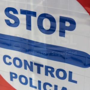 Señal reflex para policia