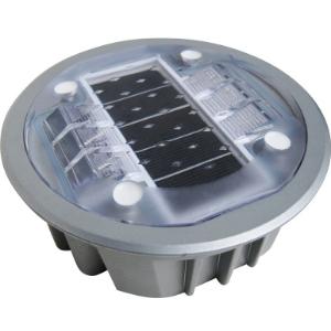 Baliza solar encastrable de Aluminio AS040
