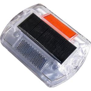Baliza solar con carcasa de policarbonato AS010