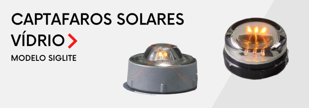 Captafaros solares modelo Siglite A666 y A68