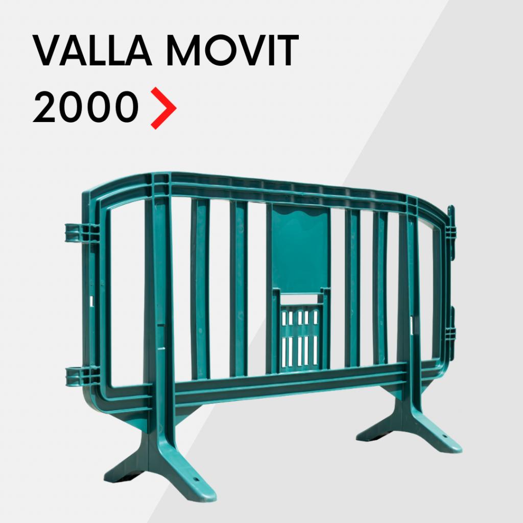 Valla de plástico MOVIT 2000
