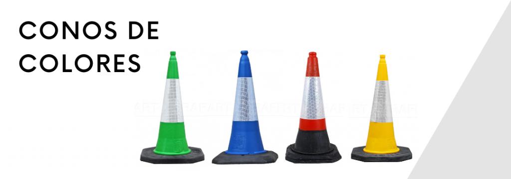 Conos de colores de 75 cm
