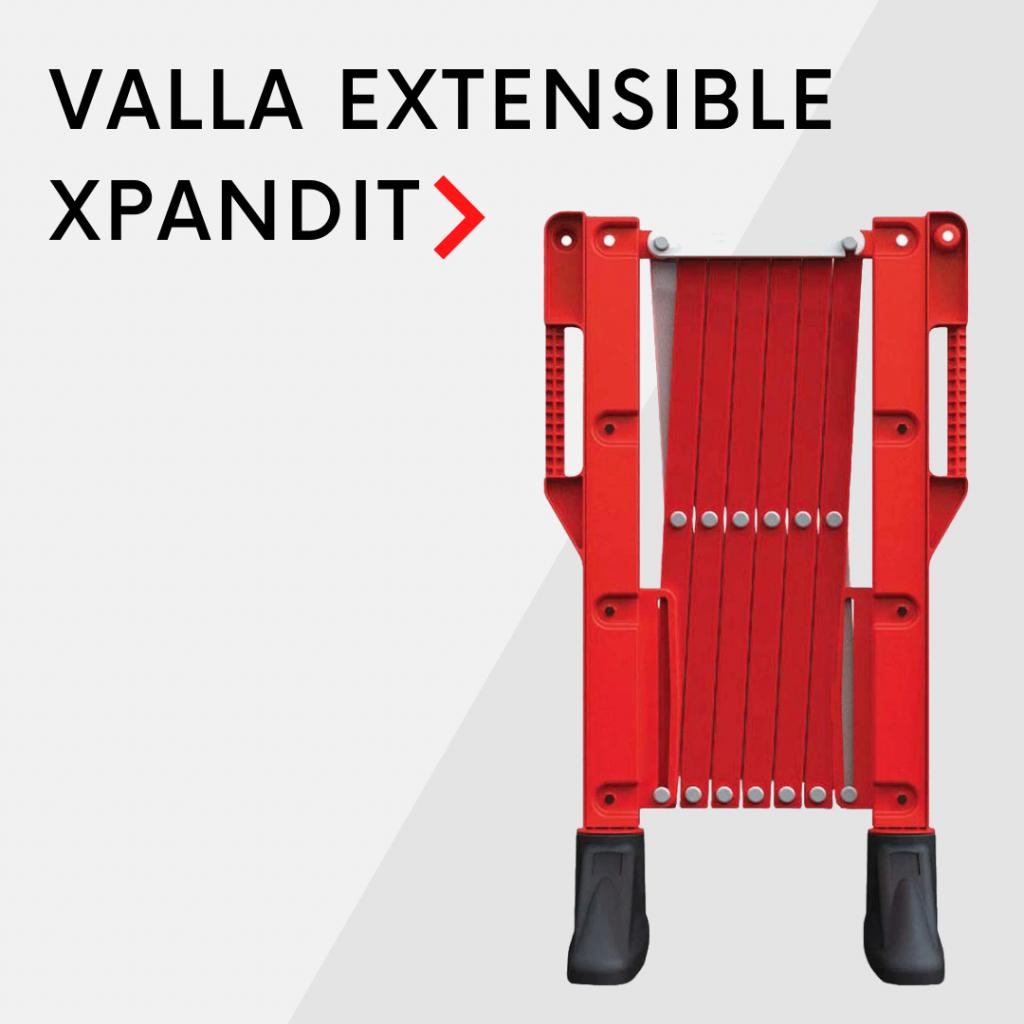 Valla extensible XPANDIT