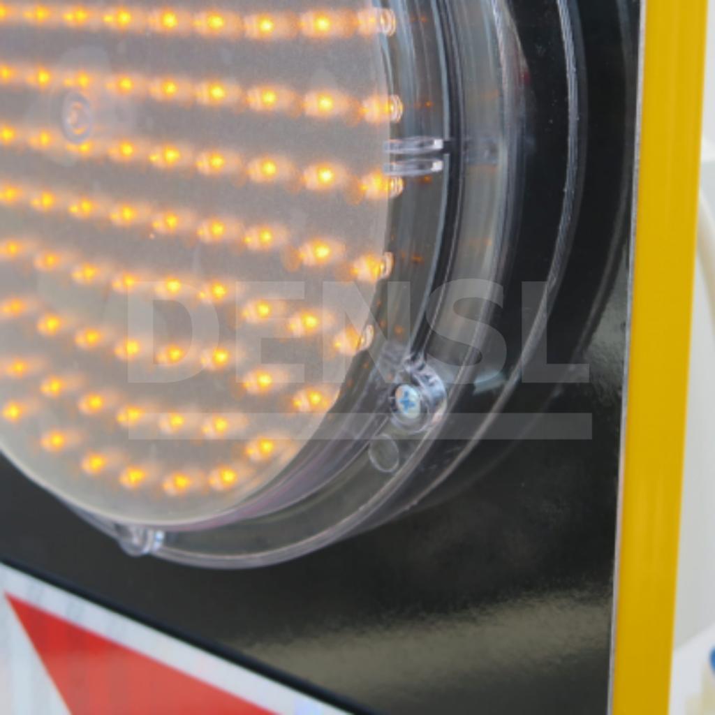 Semáforo portátil para obras