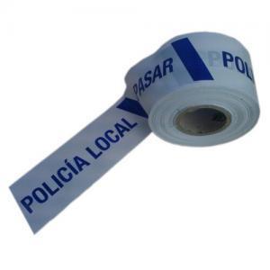 Cinta de señalización para policía