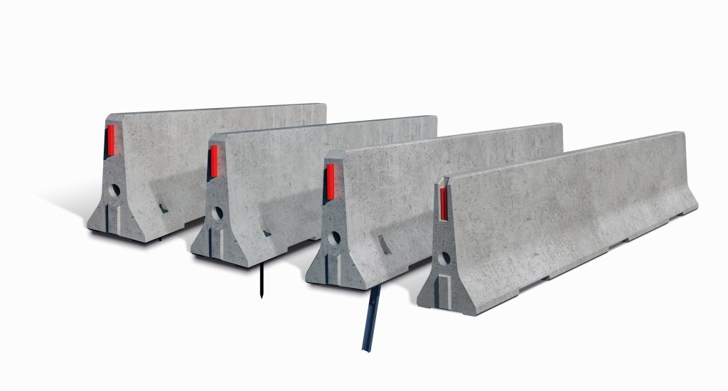 Barreras New Jersey de hormigón