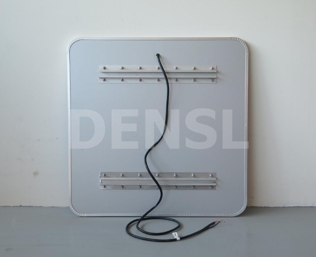 Panel posterior con abrazaderas de señal retroiluminada