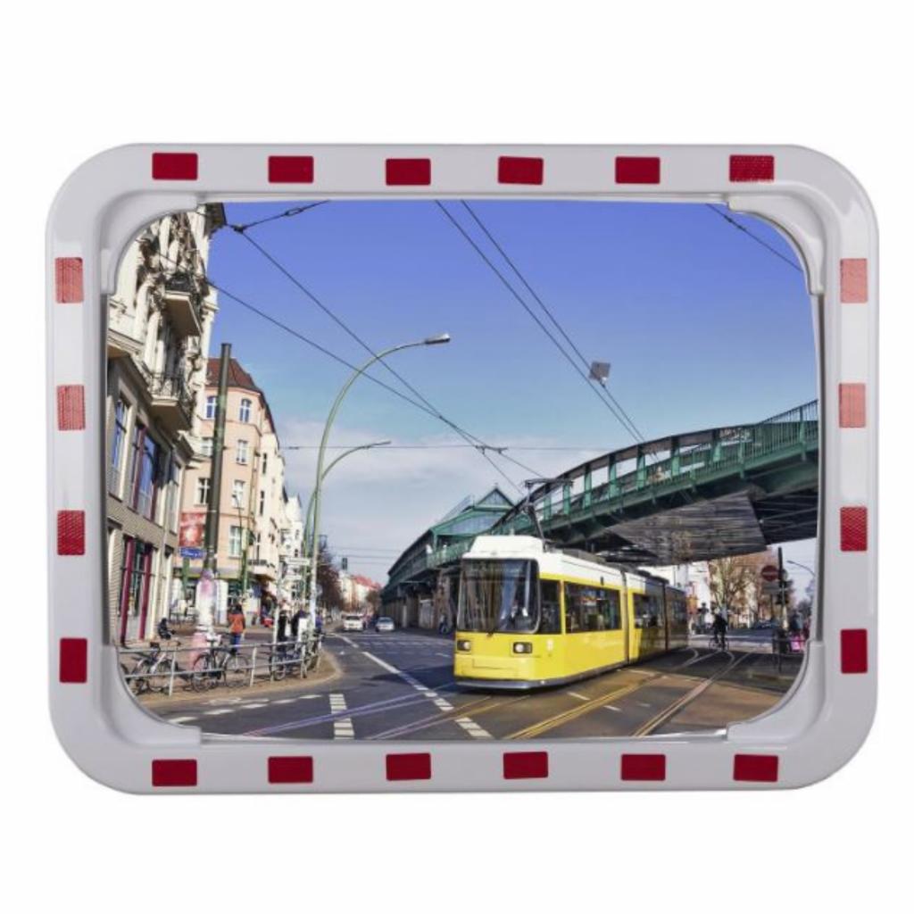 Espejo de tráfico rectangular modelo TR