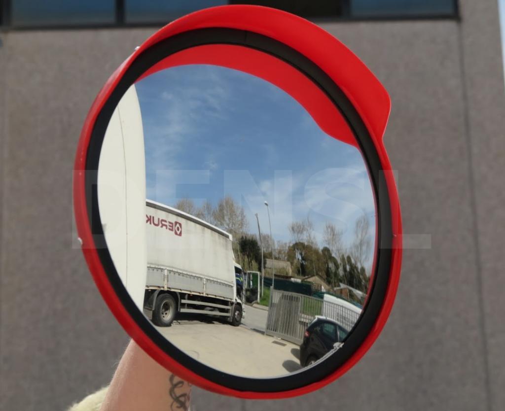 Espejos reflectantes para carreteras