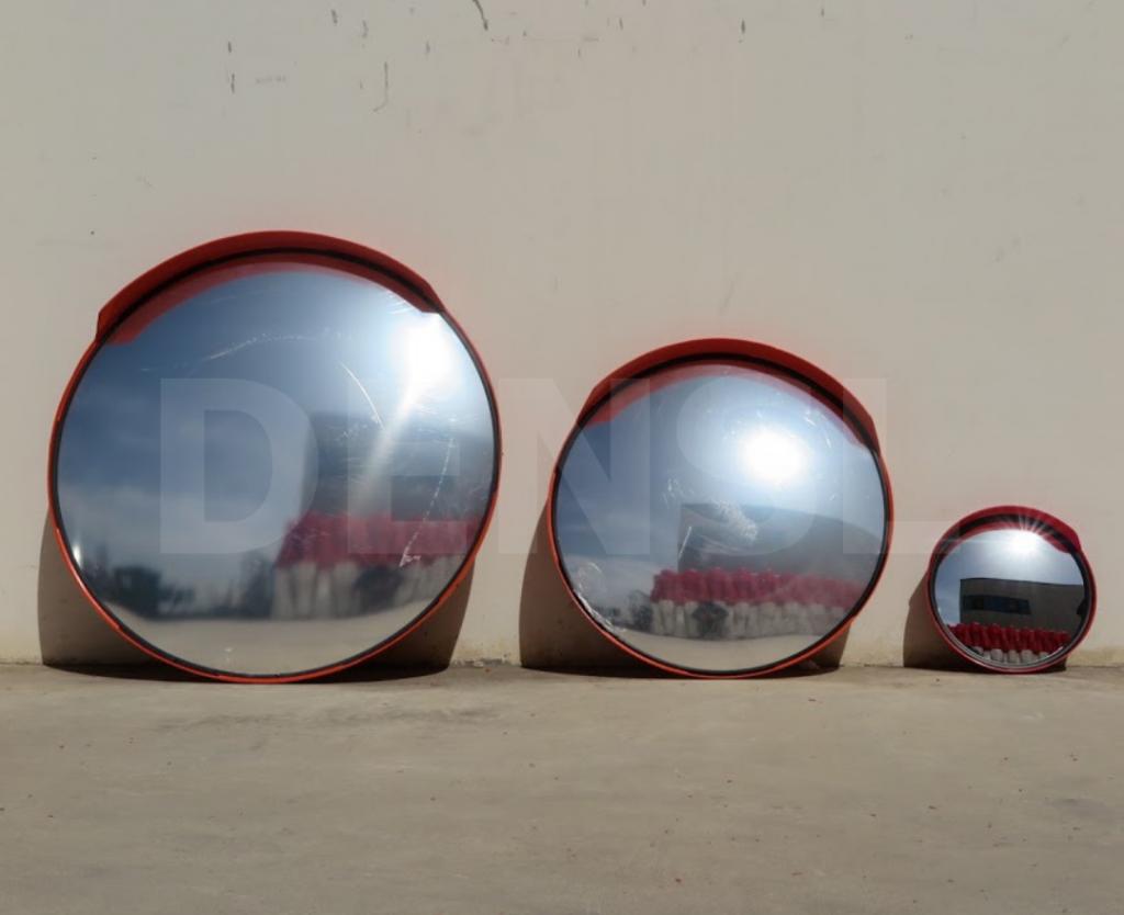 Espejos de tráfico de varias dimensiones