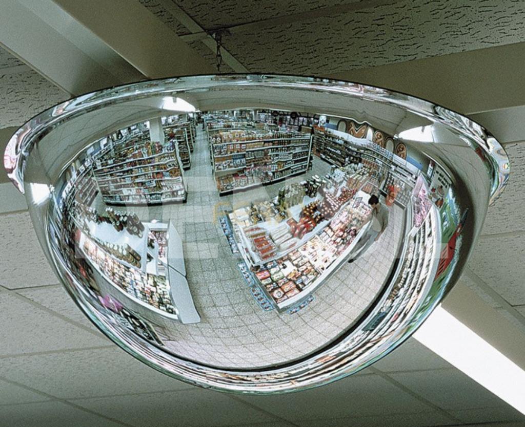 Espejo para control de tiendas