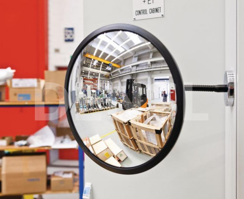 Espejos de seguridad para naves industriales