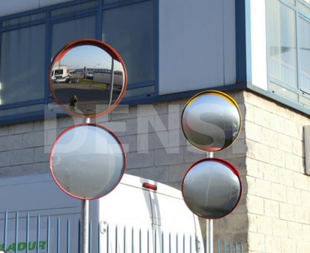 Espejos viales circulares