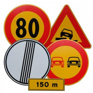 Señales de tráfico MOPU